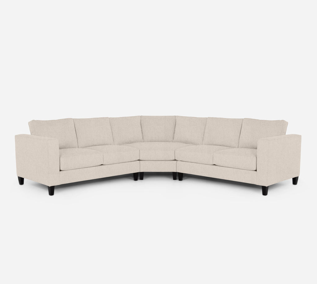 Remy Wedge Sectional - Kenley - Canvas