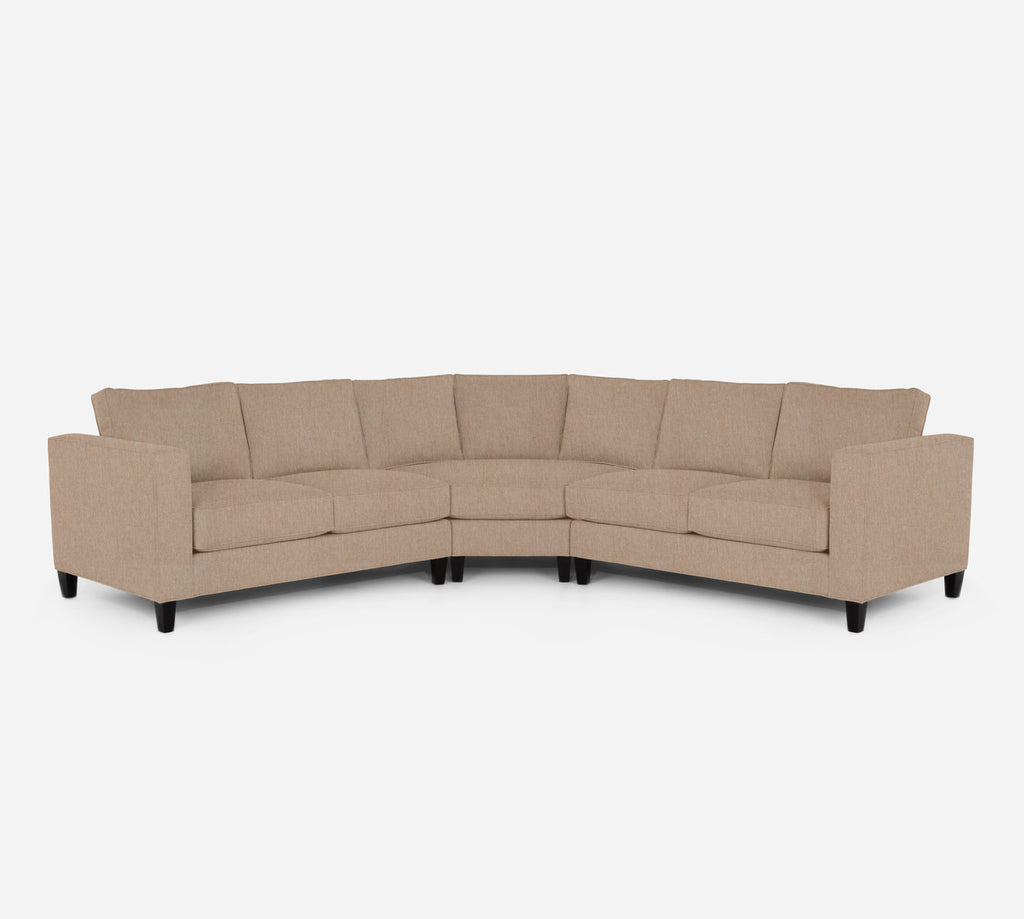 Remy Wedge Sectional - Kenley - Ecru