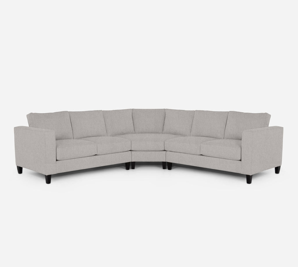 Remy Wedge Sectional - Kenley - Moondust