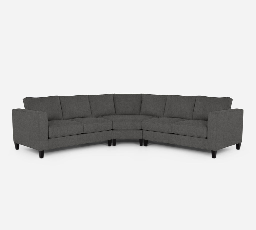 Remy Wedge Sectional - Kenley - Silversage