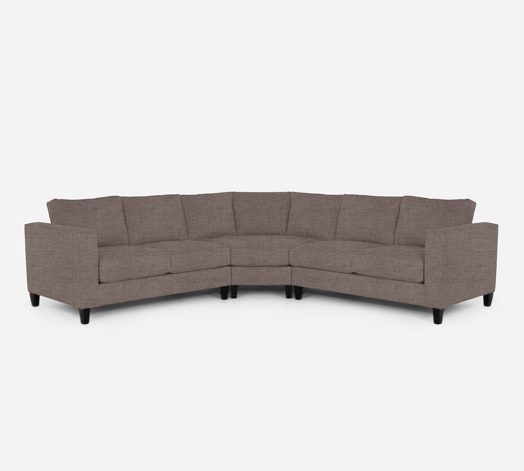 Remy Wedge Sectional - Key Largo - Pumice