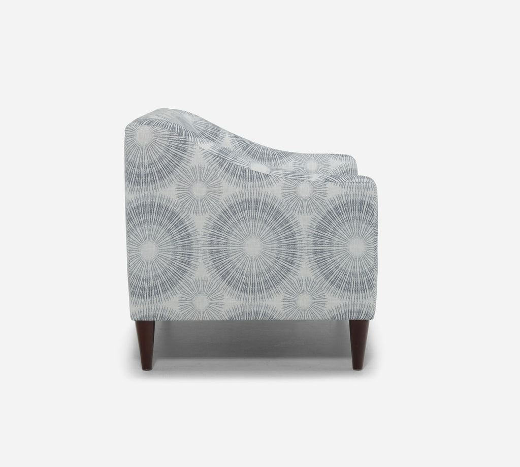 Smith Accent Chair - Fireworks - NAVY