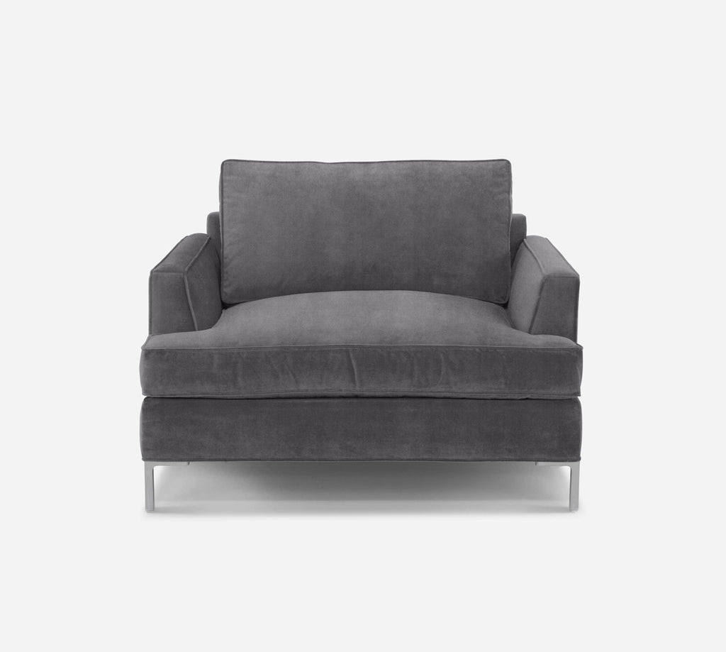 Soho Chair 1.5 - Passion Suede - Charcoal