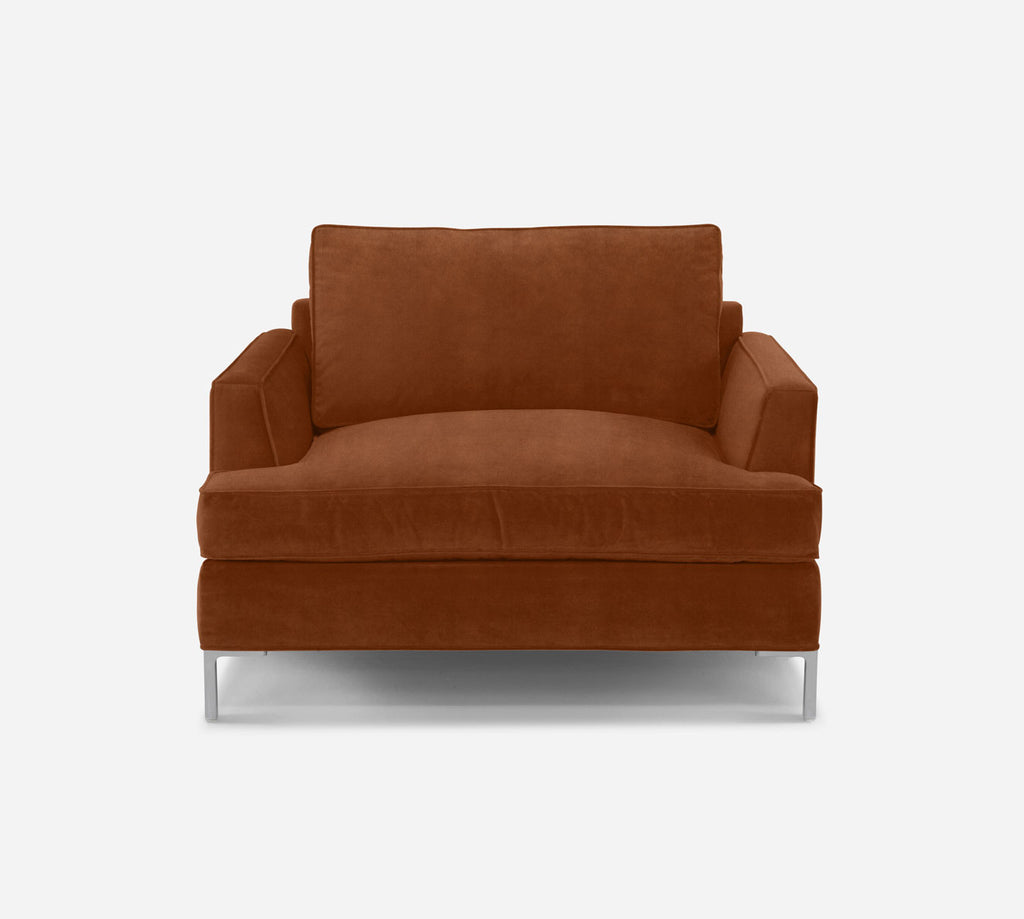 Soho Chair 1.5 - Passion Suede - Rust