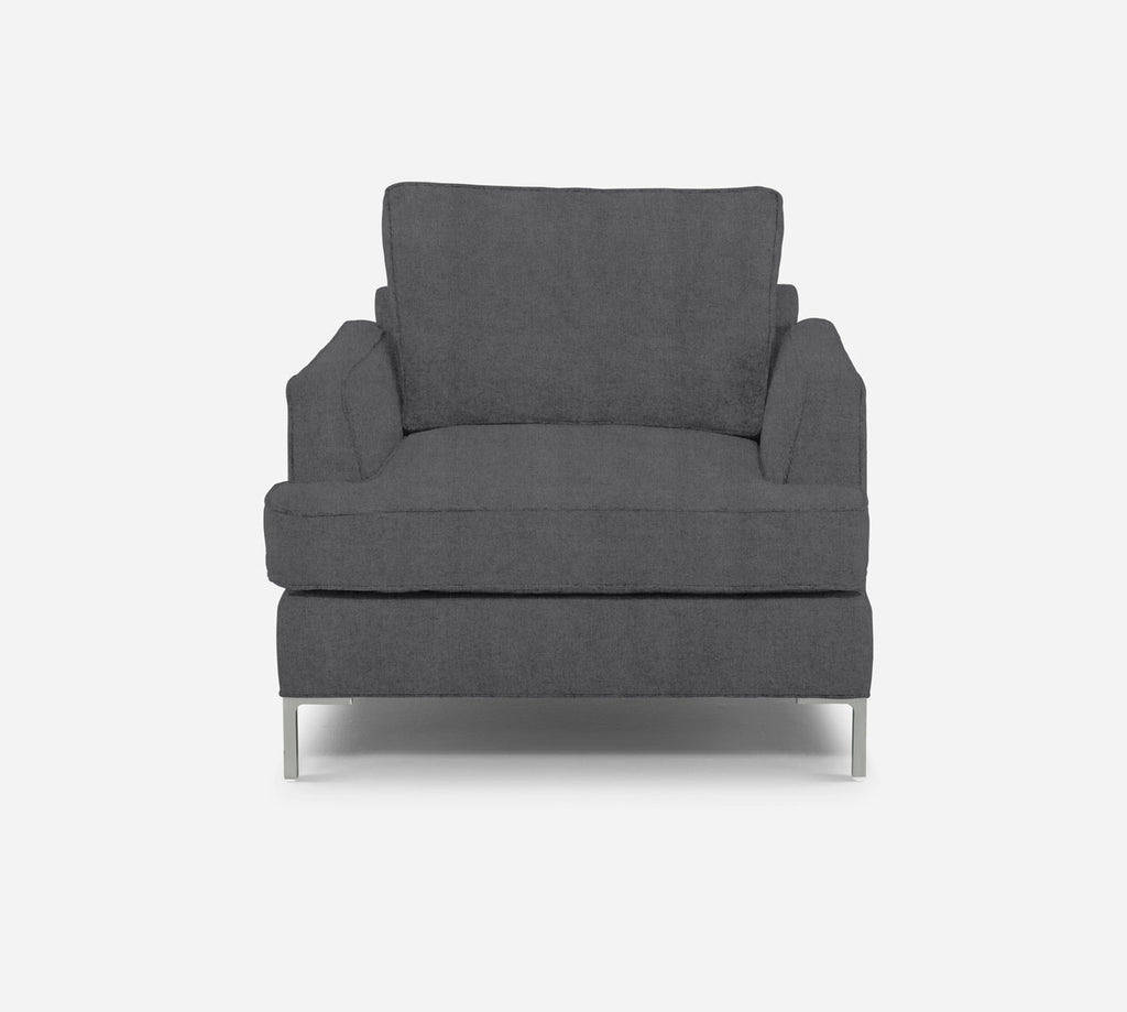 Soho Chair - Passion Suede - Charcoal