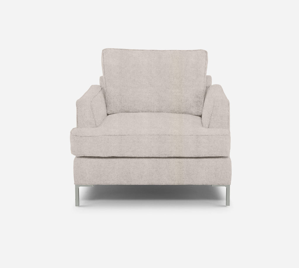 Soho Chair - Passion Suede - Oyster