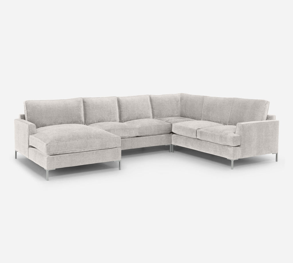 Soho LAF Chaise Corner Sectional - Coastal - Sand