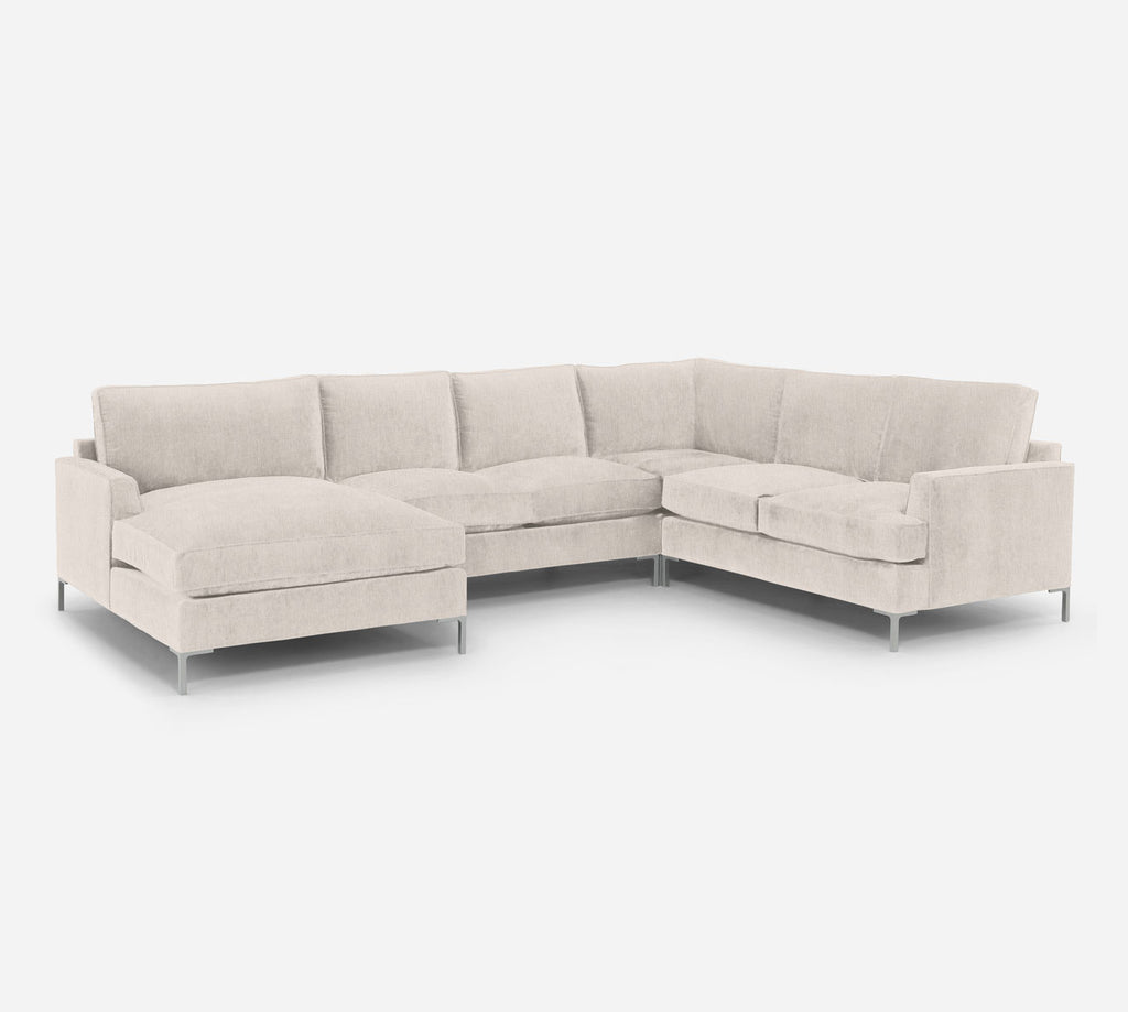 Soho LAF Chaise Corner Sectional - Kenley - Canvas