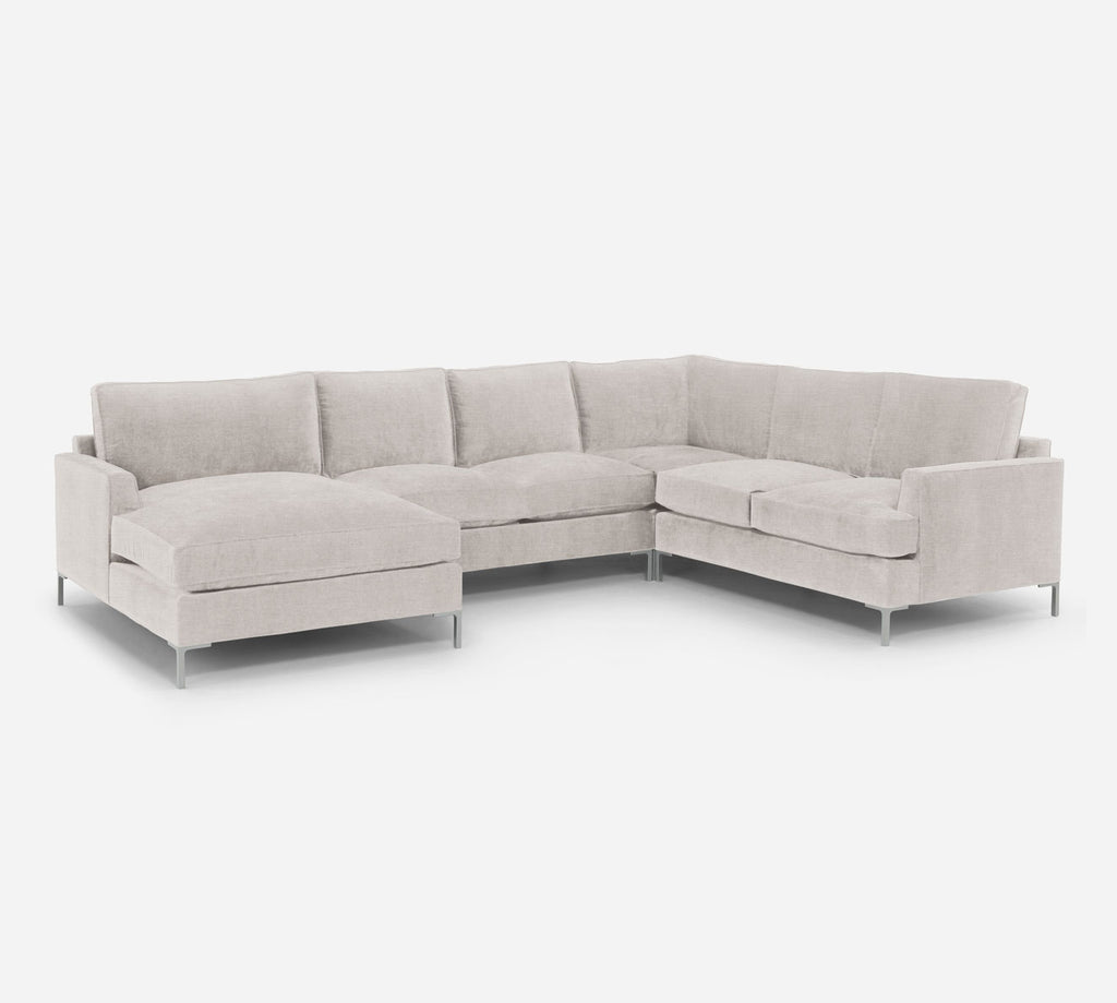 Soho LAF Chaise Corner Sectional - Key Largo - Oatmeal