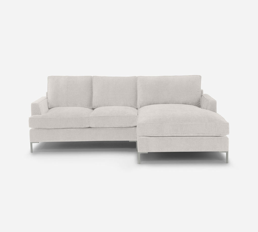 Soho LAF Sectional Apt Sofa w/ Chaise - Heritage - Ivory