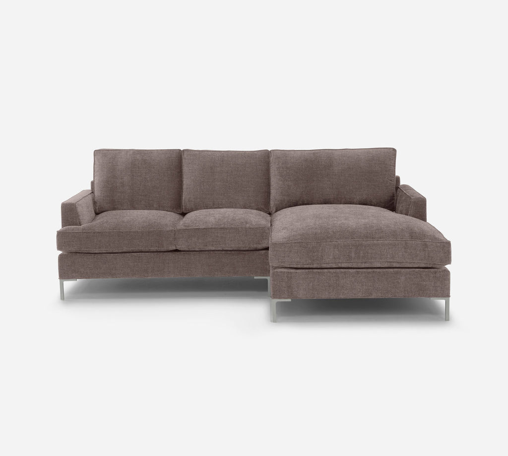 Soho LAF Sectional Apt Sofa w/ Chaise - Key Largo - Pumice