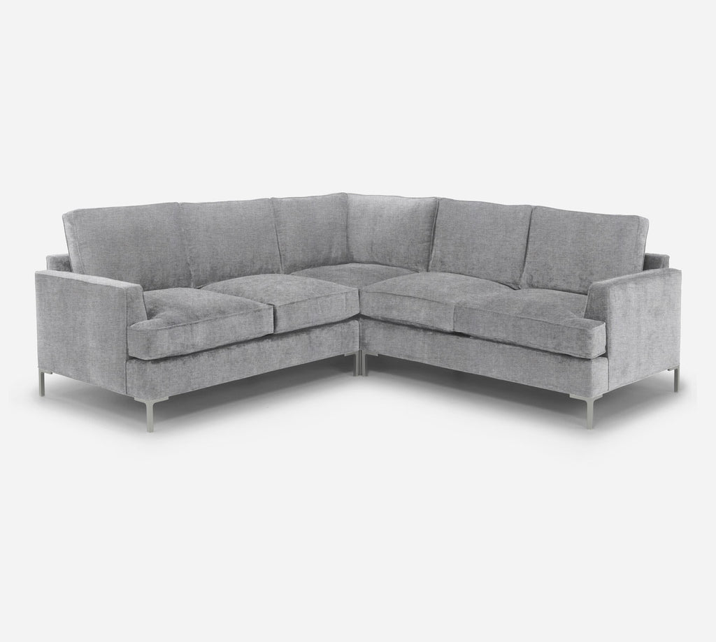 Soho Corner Sectional - Coastal - Ash