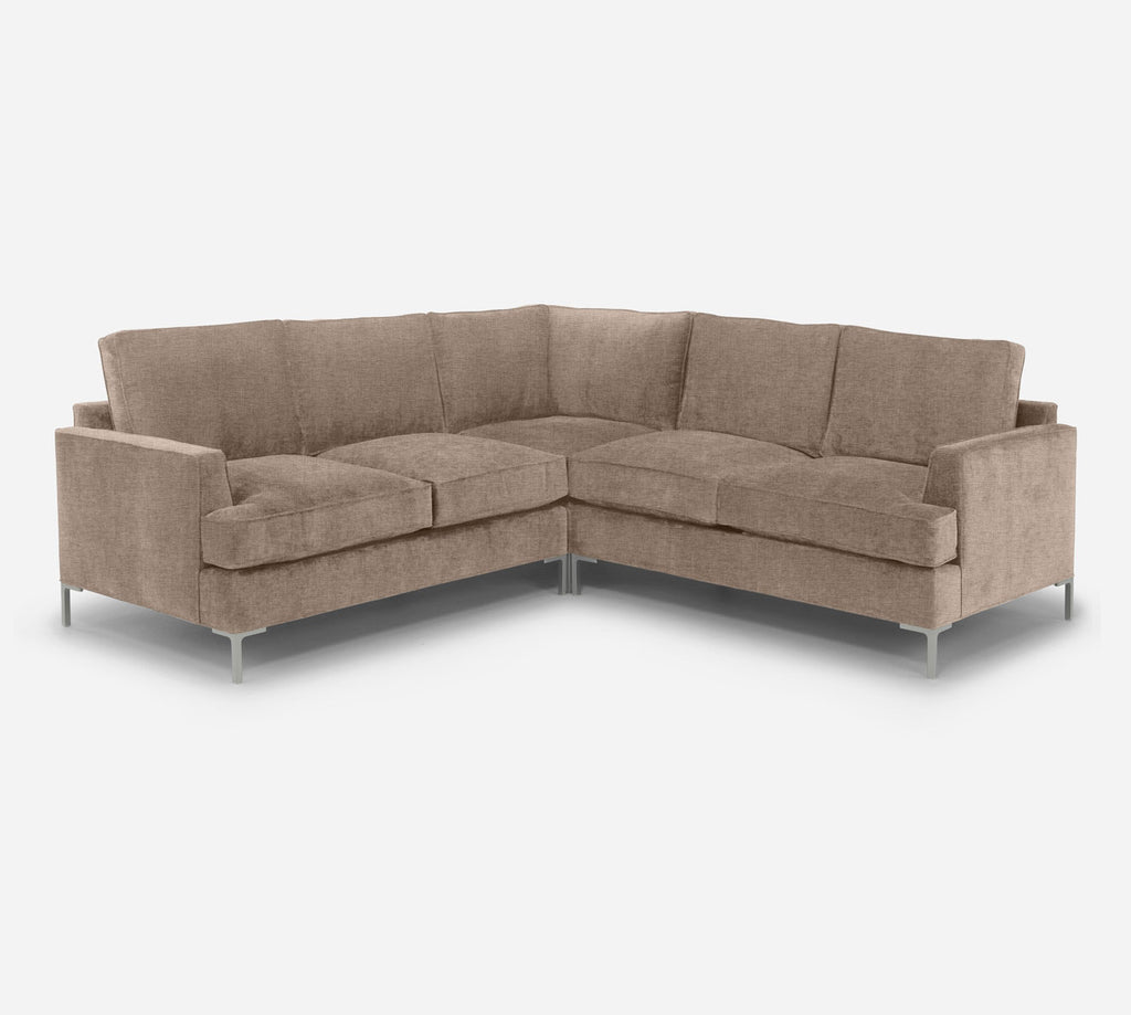 Soho Corner Sectional - Coastal - Cashew