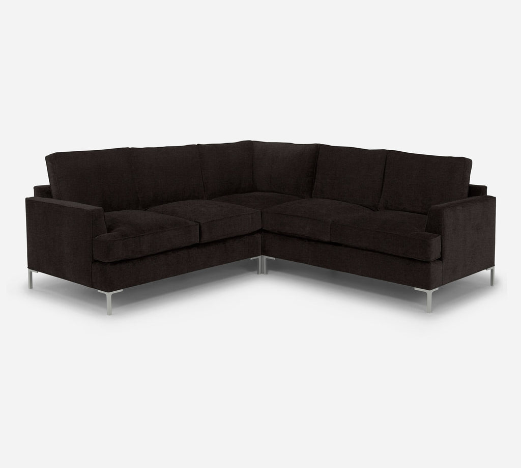 Soho Corner Sectional - Coastal - Espresso