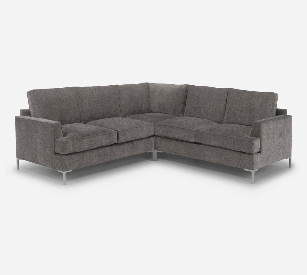 Soho Corner Sectional - Dawson - Platinum