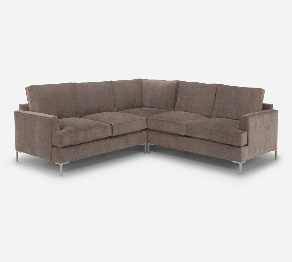 Soho Corner Sectional - Heritage - Pebble