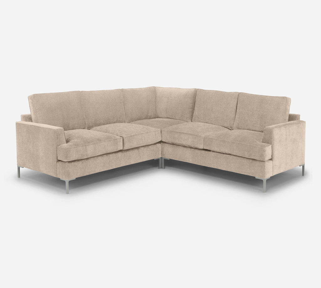 Soho Corner Sectional - Passion Suede - Camel