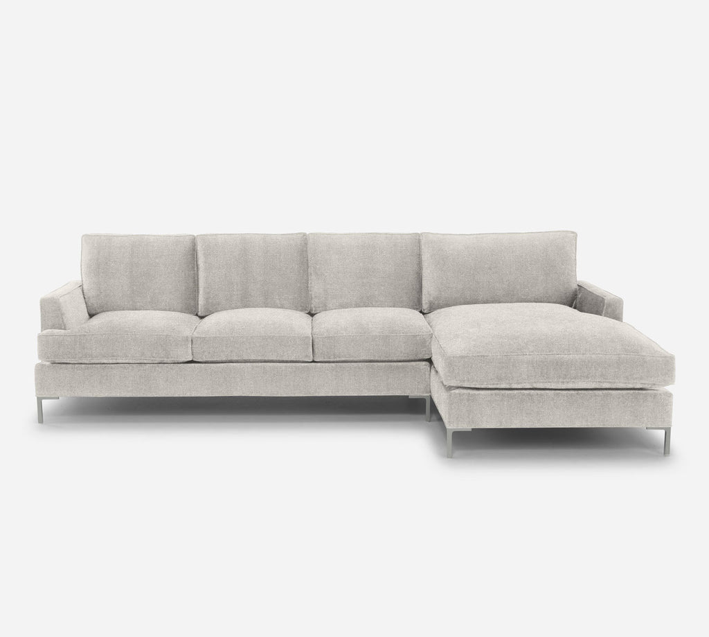 Soho LAF Sectional Sofa w/ Chaise - Heritage - Ivory