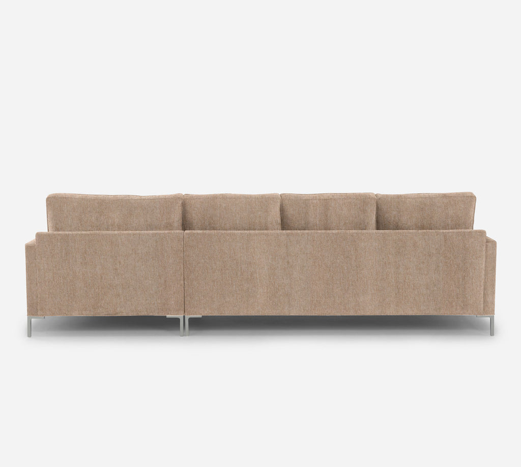 Soho LAF Sectional Sofa w/ Chaise -  Kenley - Ecru