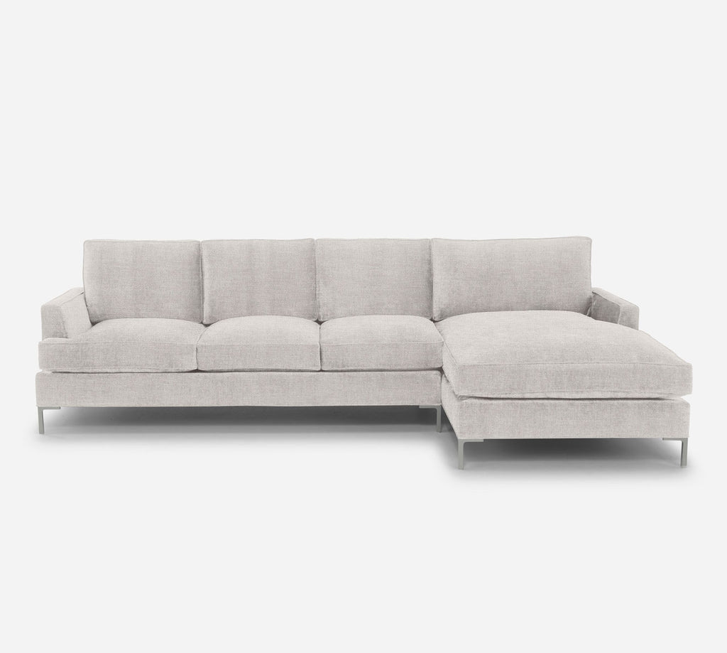 Soho LAF Sectional Sofa w/ Chaise - Key Largo - Oatmeal