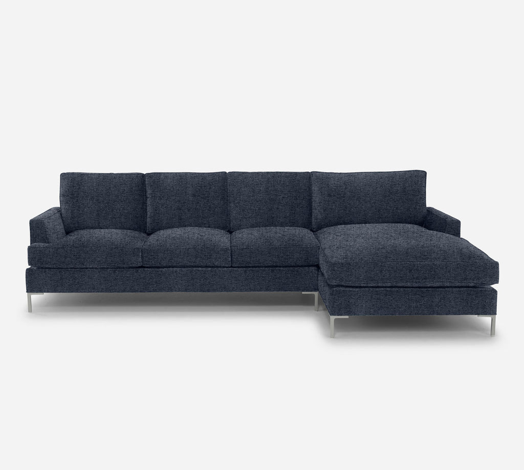 Soho LAF Sectional Sofa w/ Chaise - Theron - Baltic