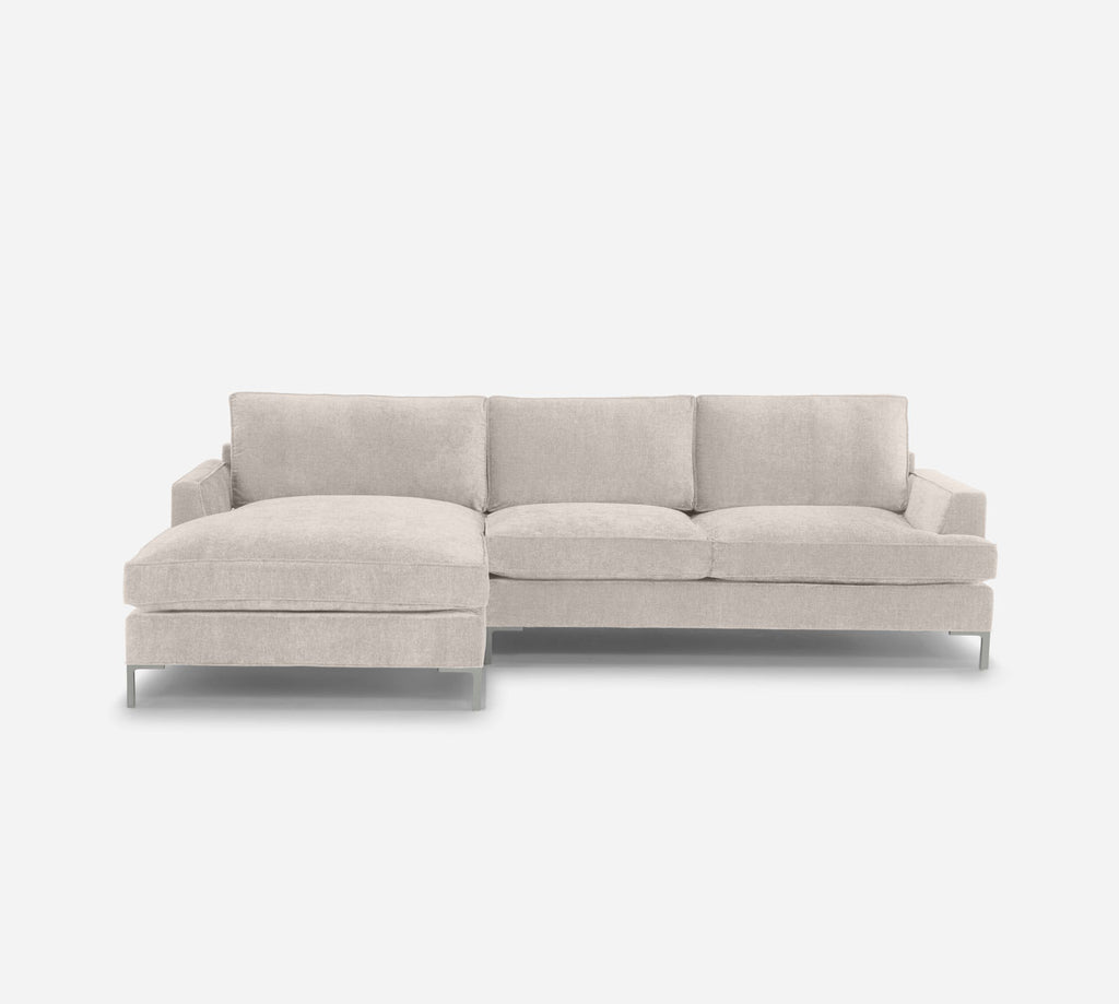 Soho Sofa with Chaise- LHF - Coastal - Sand