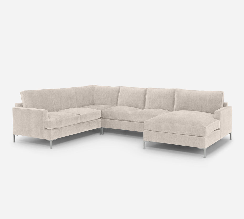 Soho RAF Chaise Corner Sectional - Kenley - Canvas