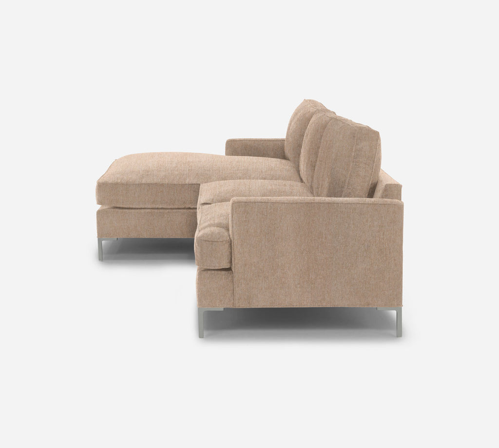 Soho RAF Sectional Apartment Sofa with Chaise