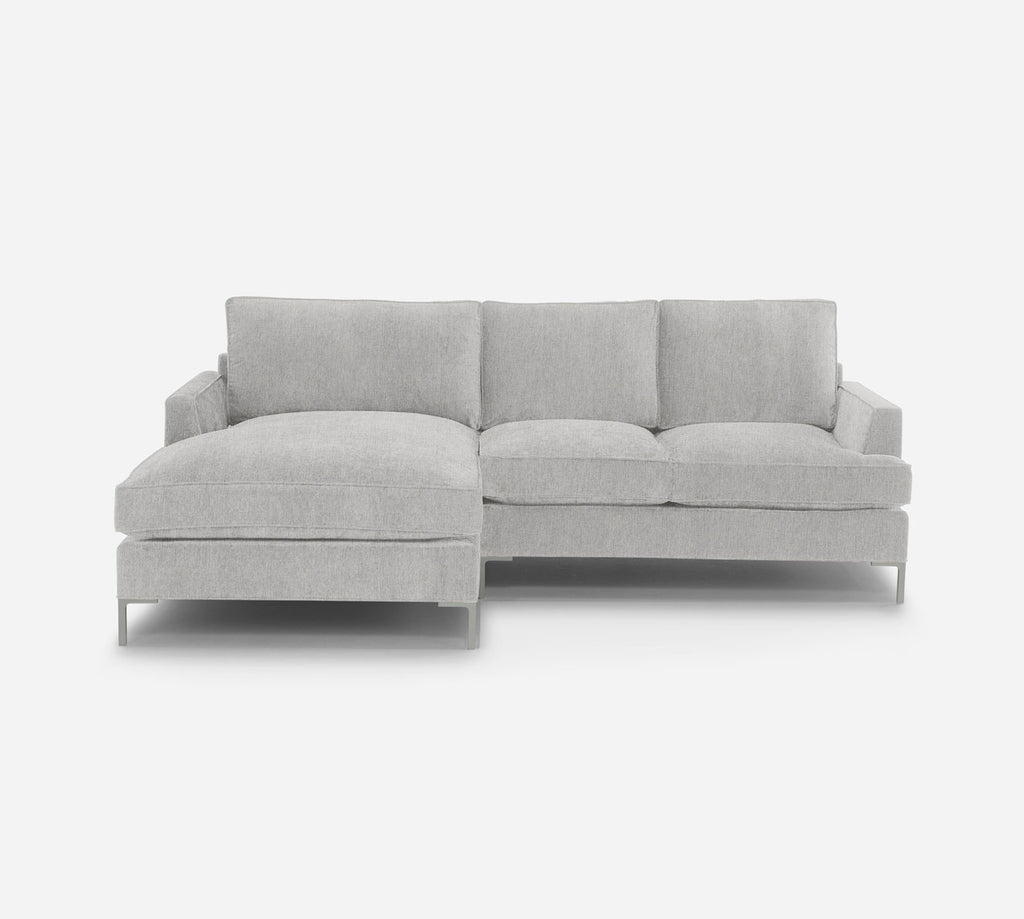 Soho RAF Sectional Apt Sofa w/ Chaise - Kenley - Ecru