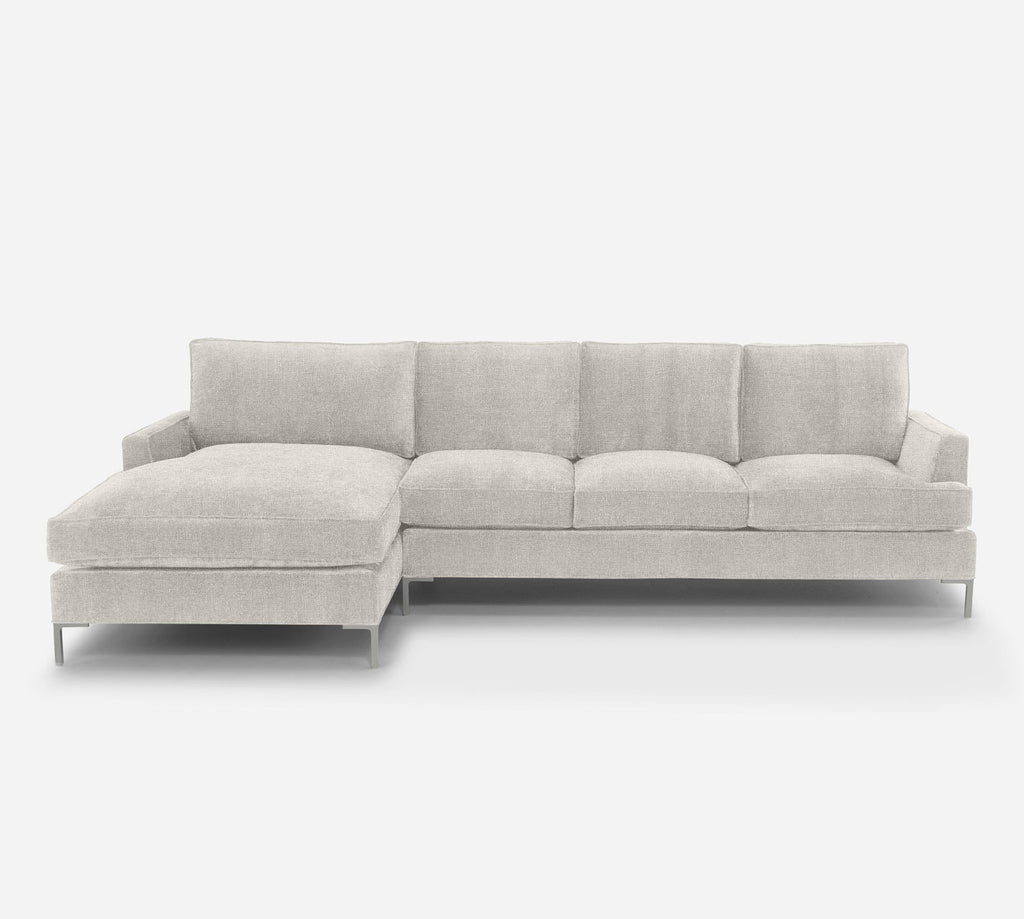 Soho RAF Sectional Sofa w/ Chaise - Heritage - Ivory