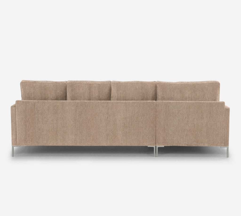 Soho RAF Sectional Sofa w/ Chaise - Kenley - Ecru
