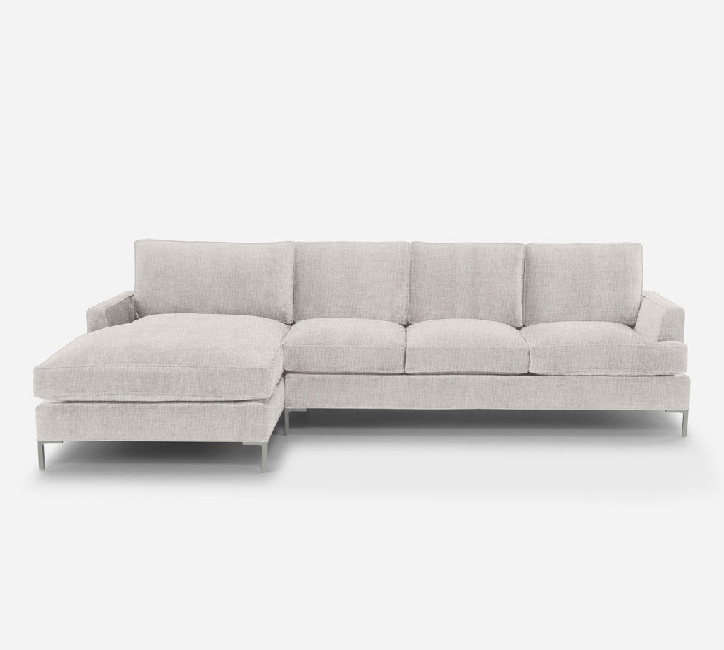Soho RAF Sectional Sofa w/ Chaise - Key Largo - Oatmeal