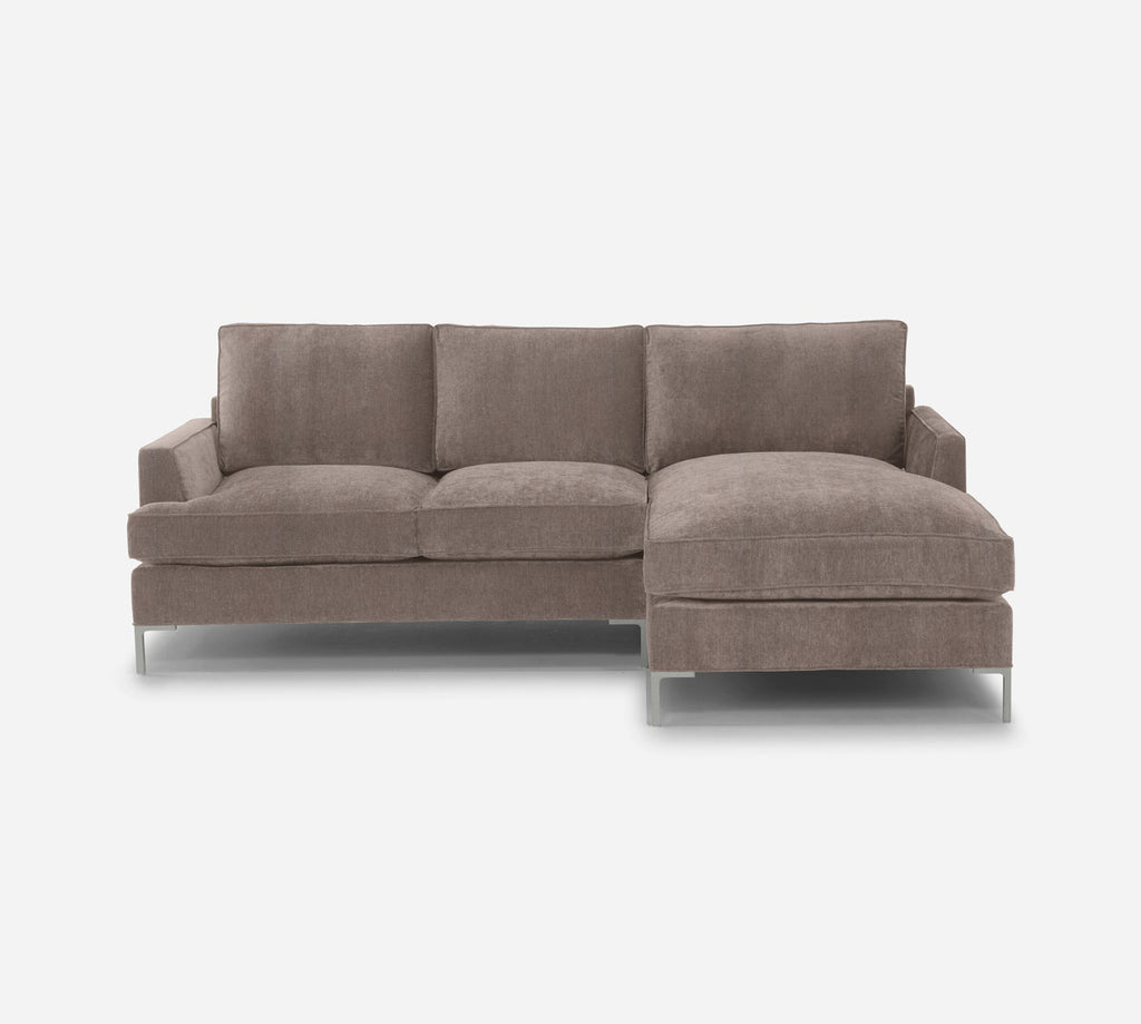 Soho Sofa with Chaise- RHF - Heritage - Pebble