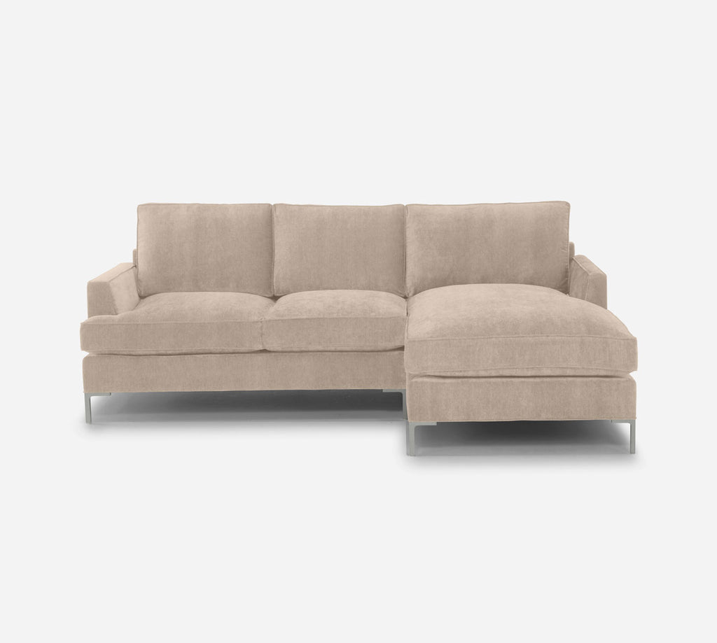 Soho Sofa with Chaise- RHF - Passion Suede - Camel