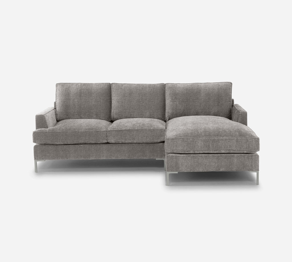 Soho Sofa with Chaise- RHF - Stardust - Fossil