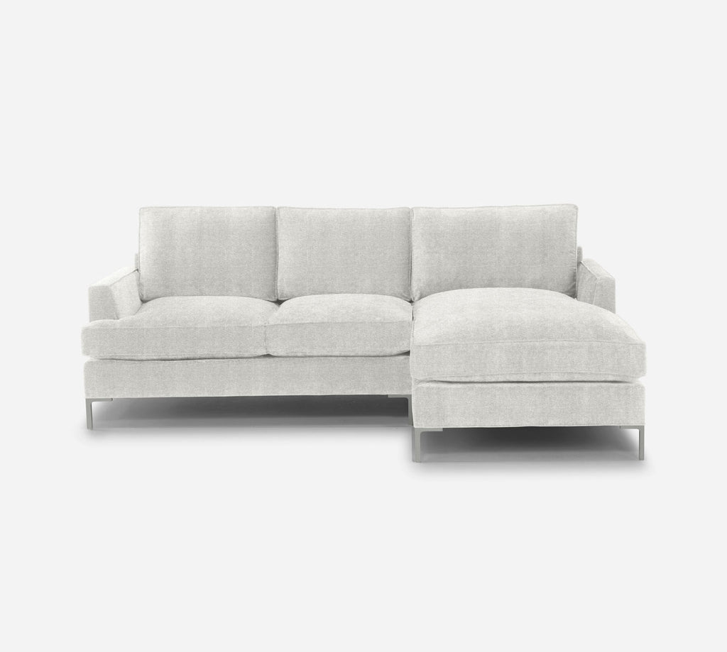 Soho Sofa with Chaise- RHF - Stardust - Ivory