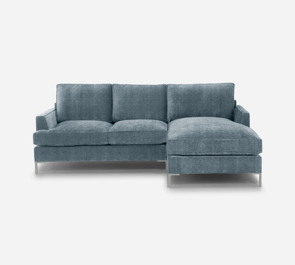 Soho Sofa with Chaise- RHF - Stardust - Lapis