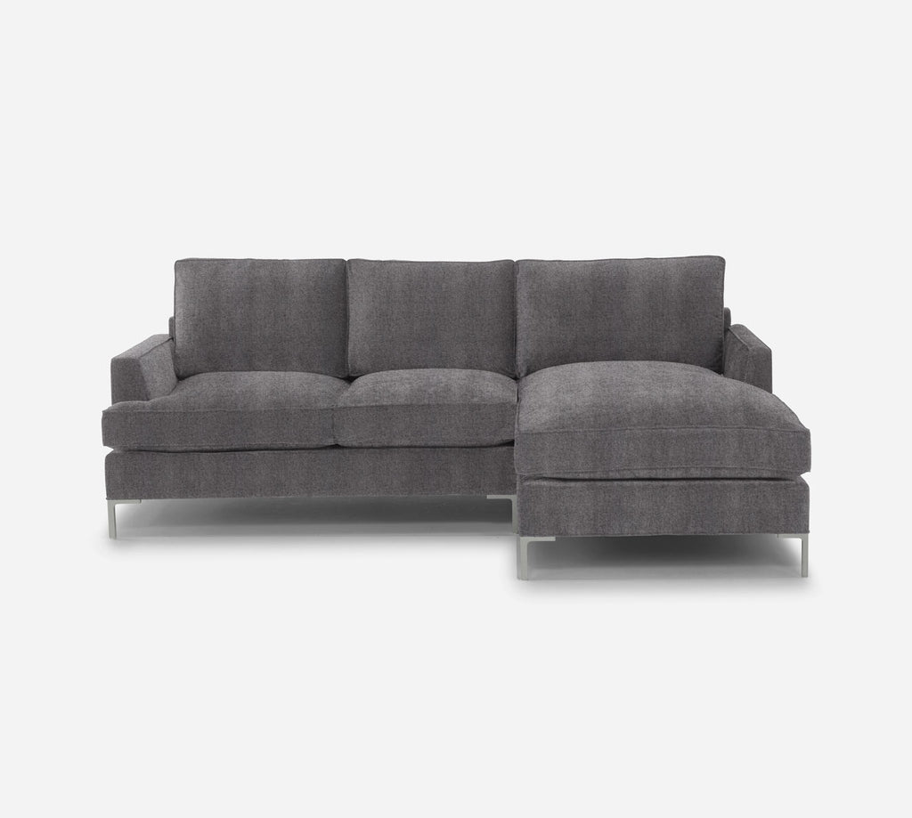 Soho Sofa with Chaise- RHF - Theron - Concrete