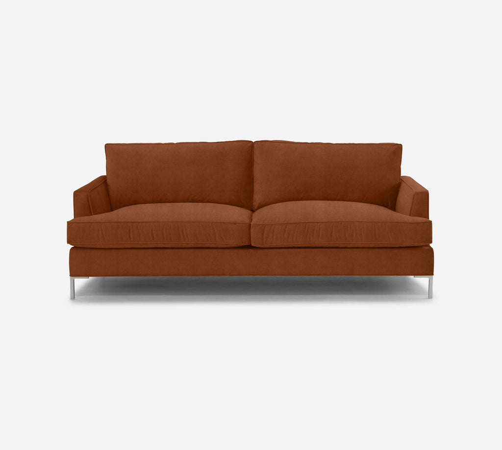 Soho Sofa - Passion Suede - Rust