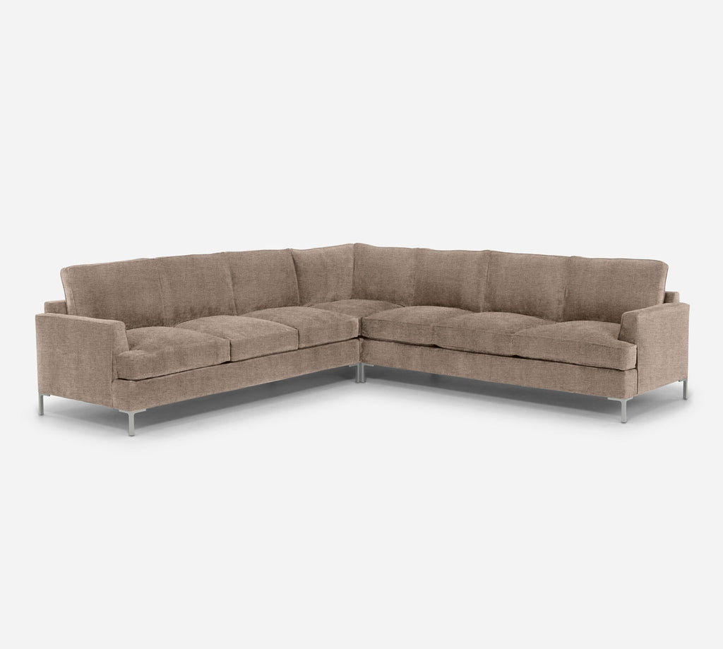 Soho Large Corner Sectional - Coastal - Cashew