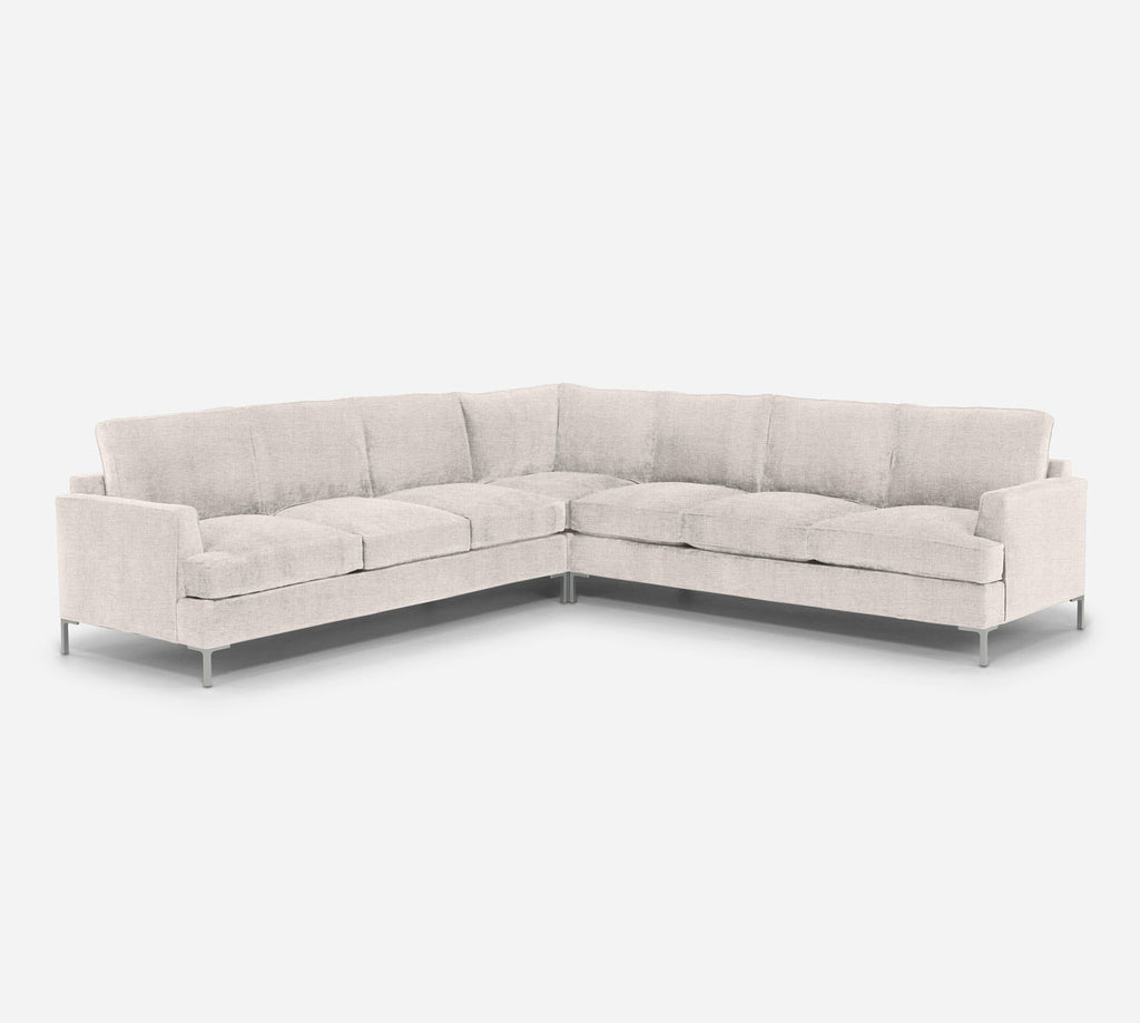 Soho Large Corner Sectional - Coastal - Sand