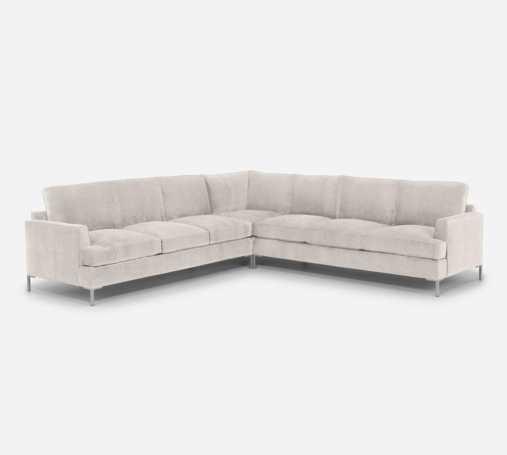 Soho Large Corner Sectional - Heritage - Ivory