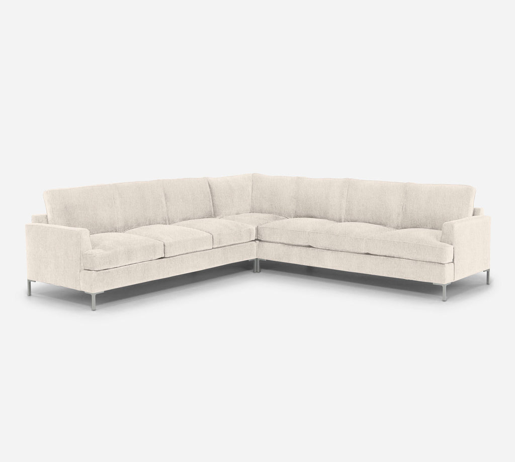 Soho Large Corner Sectional - Kenley - Canvas