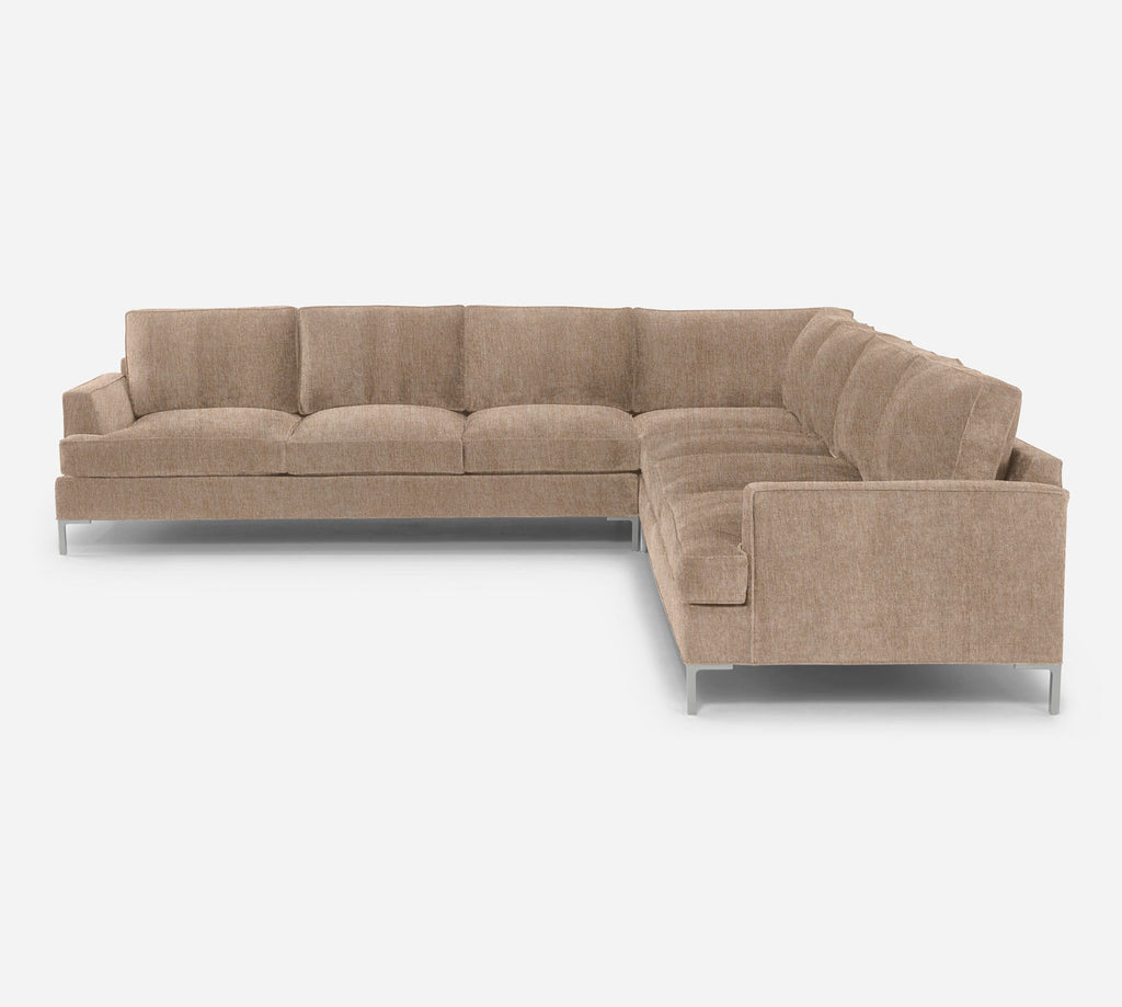 Soho Large Corner Sectional - Kenley - Ecru