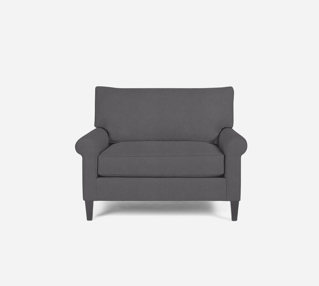 Soren Chair 1.5 - Passion Suede - Charcoal