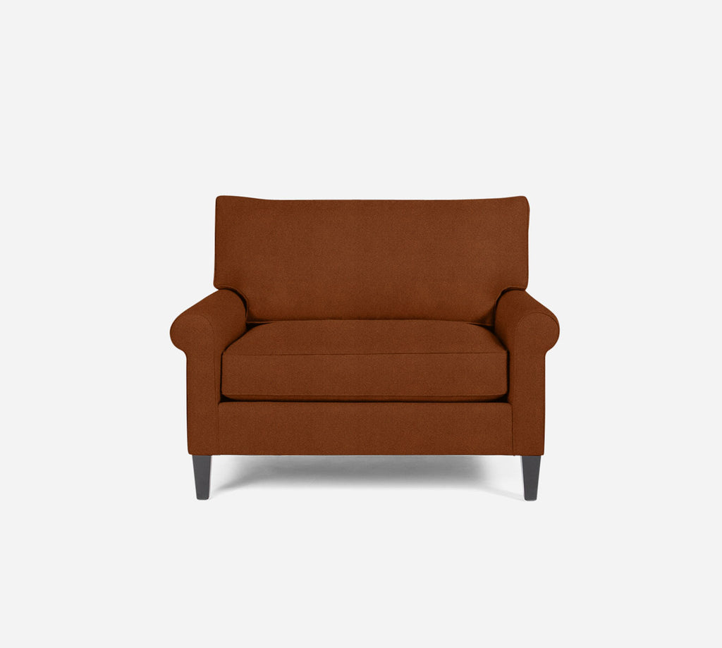 Soren Chair 1.5 - Passion Suede - Rust