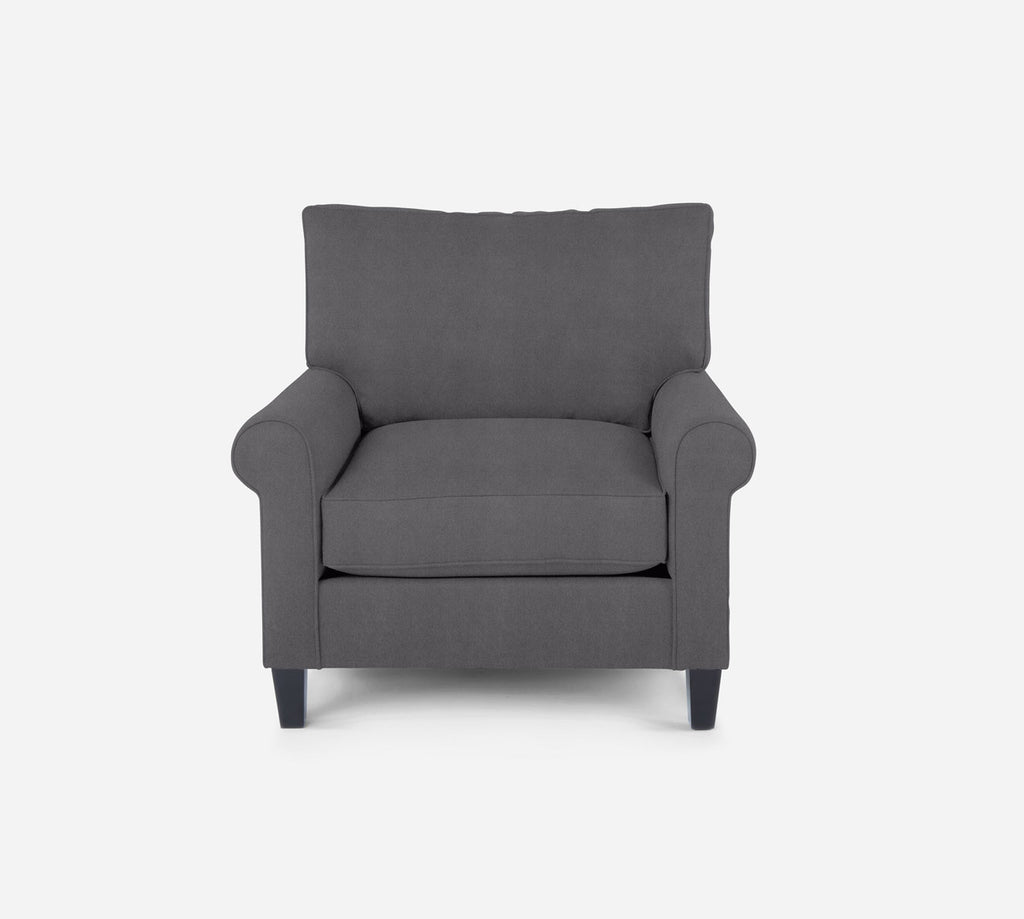 Soren Chair - Passion Suede - Charcoal