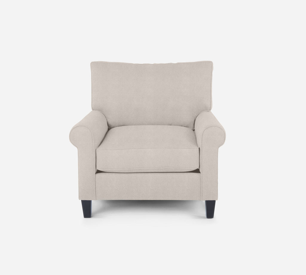 Soren Chair - Passion Suede - Oyster