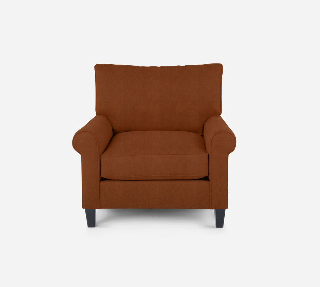 Soren Chair - Passion Suede - Rust