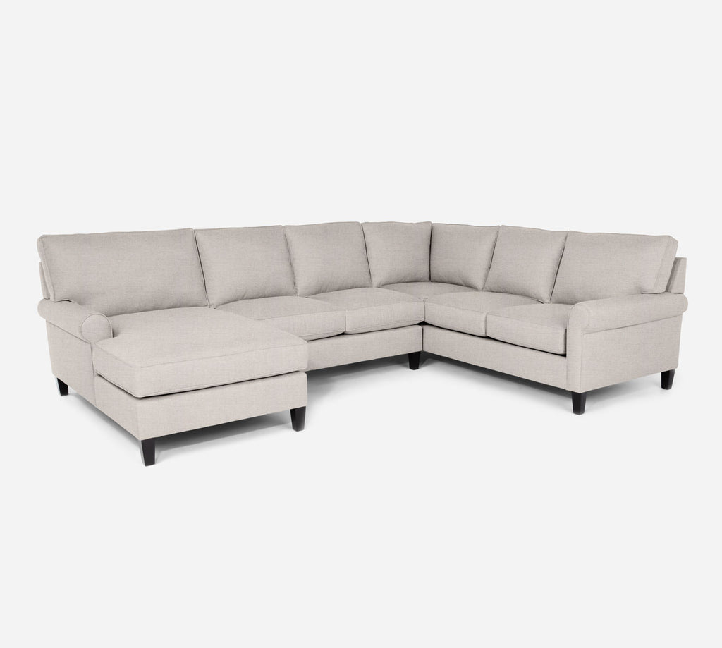 Soren LAF Chaise Corner Sectional - Coastal - Sand